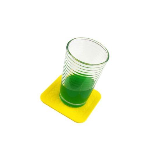 Lot de 4 dessous de verre antidérapants